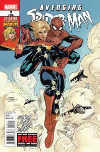 avenging spider-man #9 1st appearance Captain Marvel
