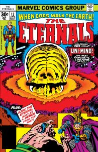The Eternals Key Issue Marvel Comic Books The Eternals Key Issue Marvel Comic Books